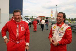 Jonathan Sicart Ferrari F430 Challenge