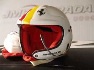 Casque Open Ferrari