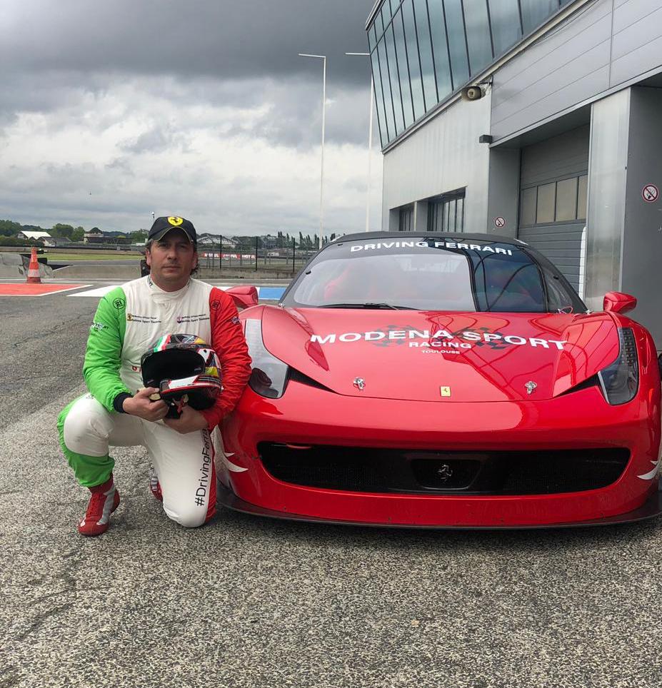 Jonathan Sicart Test Drive Ferrari 458 & 488 Nogaro 2019